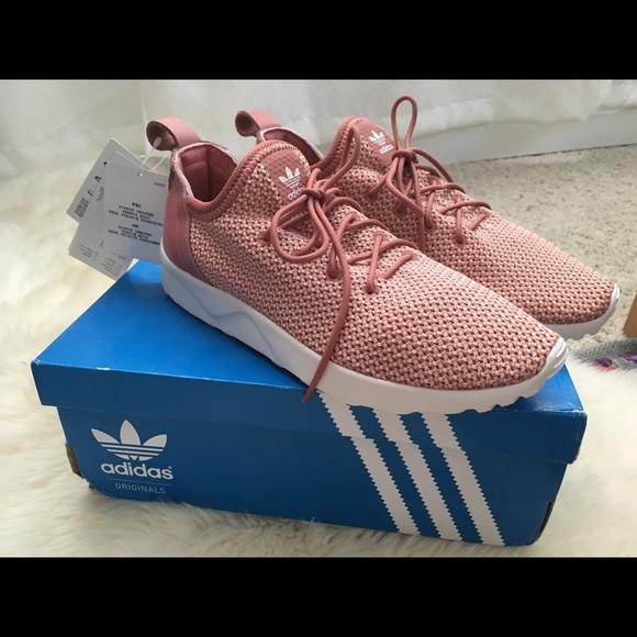 a0b6d14b0e149 Adidas ZX Flux Adv Virtue dust pink raw pink